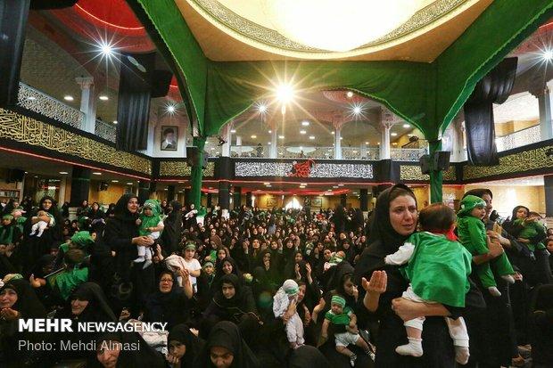 برگزاری مراسم شیرخوارگان در استادیوم ۱۰۰ هزار نفری آزادی